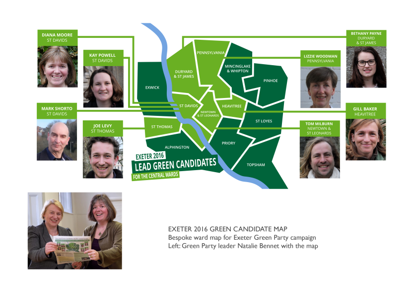 Green Party Map
